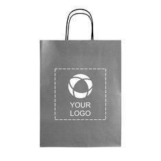 Eenvoudige papieren tas middelgroot