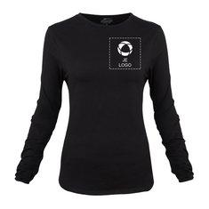 Slazenger™ Curve Dames T-Shirt met Lange Mouwen