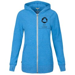 Elevate™ Garner Full Zip Hooded Ladies Sweater