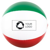 Bullet™ Rainbow solid beach ball