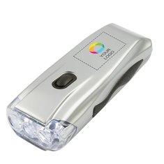 Lampe de poche dynamo Capella imprimée en couleur