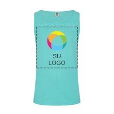 Camiseta sin mangas teñida en prenda de Comfort Colors