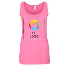 Camiseta sin mangas Gildan® Softstyle para júniors