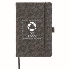 Luxe™ Lace gavesæt med A5-notesbog og kuglepen
