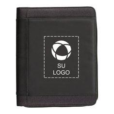 Portafolio con cremallera Zoom™ de carga inalámbrica de 4000 mAh