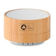 Altavoz con Bluetooth de bambú Sound