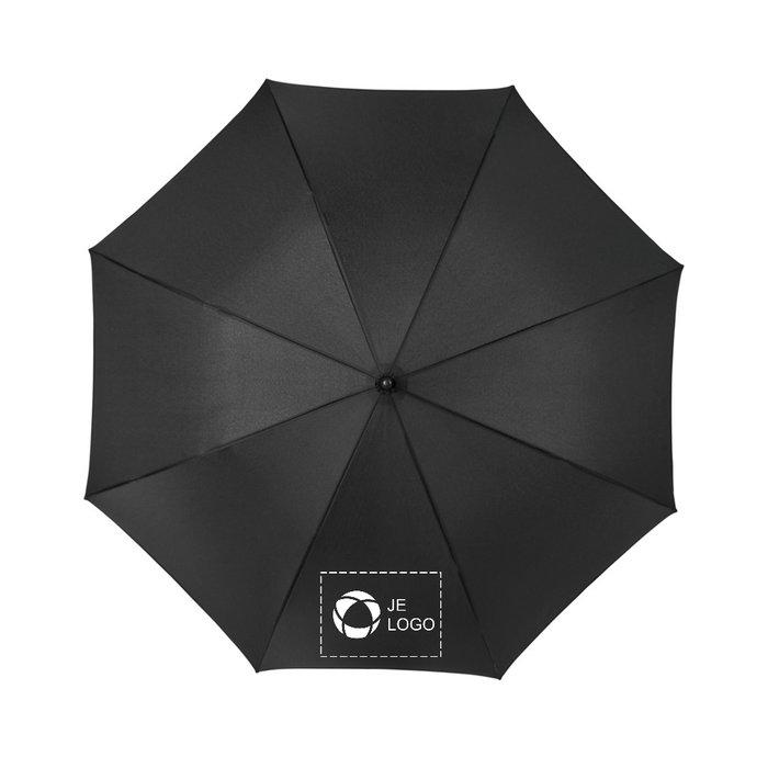 Avenue™ Kia windbestendige gekleurde paraplu van 58 cm die automatisch opent en sluit