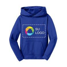 Sport-Tek® Youth Sport-Wick® Hooded Pullover