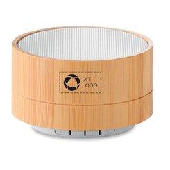 Sound Bluetooth-højttaler i bambus