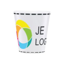 Duraglaze® Latte mok met full-colour drukwerk