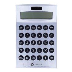 Basics miniräknare med tolvsiffrig display