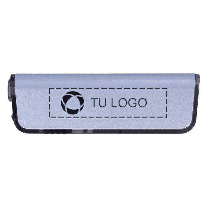 Multiherramienta Alutool con linterna de luz LED