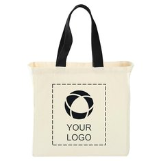 Bullet Natural 5oz Cotton Canvas Grocery Tote