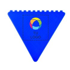 Rasqueta para hielo triangular con estampado a todo color Frosty de Bullet™