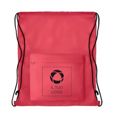 Borsa con coulisse grande Pocket Shopp