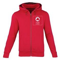 Elevate™ Arora Men's Hooded Full Zip Sweater