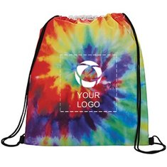 Tie Dye Drawstring Sportspack
