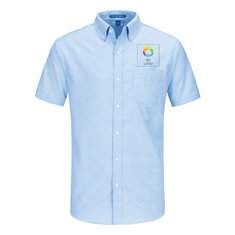 Camisa de manga corta Port Authority® SuperPro™ tipo Oxford