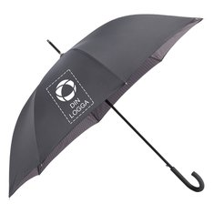 Avenue™ paraply med automatisk uppfällning och dubbla lager