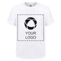 Fruit of the Loom® Kinder-T-Shirt 100% Baumwolle mit einfarbigem Druck