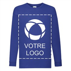 T-shirt enfant à manches longues Valueweight de Fruit of the Loom®