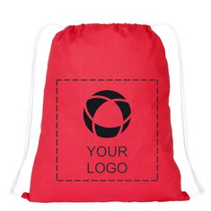 Condor Cotton Drawstring Cinch Bag
