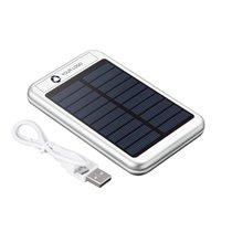 Batería externa solar de 4000 mAh Bask de Avenue™