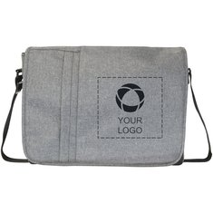 "Bullet™ Heathered 15.6"" Computer Messenger Bag"