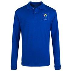 Camisa deportiva de tejido jersey JERZEES® SpotShield™ de manga larga
