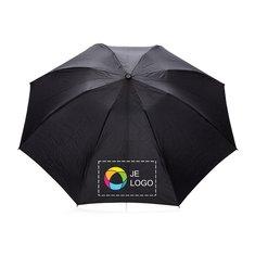 Swiss Peak® opvouwbare omkeerbare paraplu die automatische opent/sluit