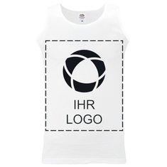 Fruit of the Loom® Athletic Trägershirt für Herren mit einfarbigem Druck