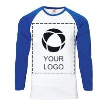 Camiseta de manga larga para estampado monocolor Baseball de Fruit of the Loom™ para hombre