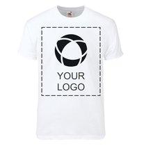 Maglietta da uomo Super Premium con stampa monocolore Fruit of the Loom®