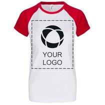 T-shirt femme à manches courtes unicolore Milky de Sol's®