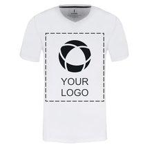 T-shirt homme unicolore à manches courtes et col en V Kawartha d'Elevate™