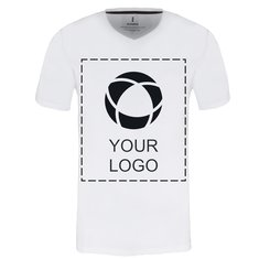 Elevate™ Single colour print Kawartha Men's Short Sleeve V-Neck T-Shirt