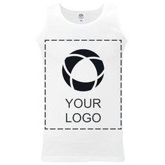Fruit of the Loom® Single Colour Print Men's Athletic Vest