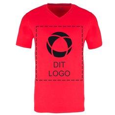Elevate™ Kawartha kortærmet T-shirt med v-hals til herrer med enkeltfarvetryk