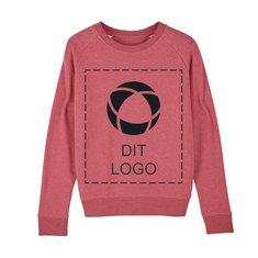 Stella Tripster Iconic Vegan sweatshirt med rund hals og enkeltfarvetryk til kvinder