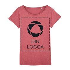 Stella Wants snäv T-shirt i dammodell, enfärgat tryck