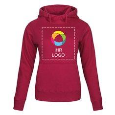 Kapuzensweatshirt für Damen Fastpitch von Printer