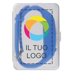 Contapassi da polso Get-Fit Bullet™ con stampa a colori