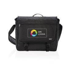 Swiss Peak® RFID PVC-fri messengerväska för 15-tumsdator