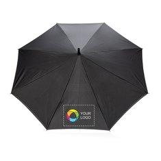 Manual vendbar paraply