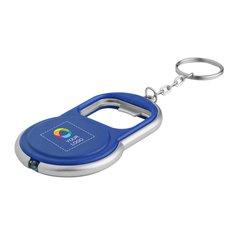 Porte-clés décapsuleur lumineux à DEL