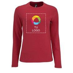 Camiseta de manga larga Imperial de Sol's® para mujer