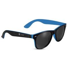 Gafas de sol negras con detalles de color Sun Ray de Bullet™