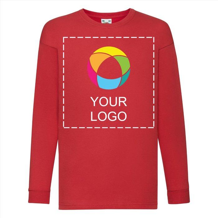Camiseta Valueweight para niño de Fruit of the Loom® con estampado a tinta en la parte delantera