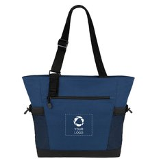 Urban Passage Zippered Travel Business Tote Bag