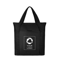 Heavy Duty Zippered Business Tote Bag